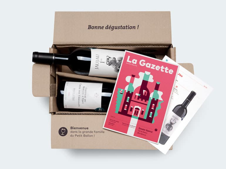 Box vin Le Petit Ballon