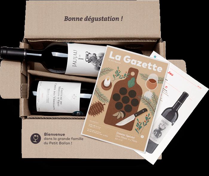 Le Petit Ballon, une Box vin indéformable pour la fête des pères