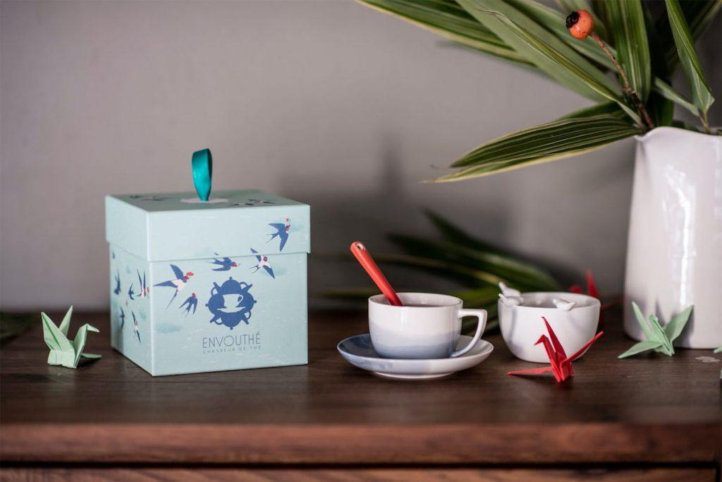 Envouthé : un coffret de thé à offrir en cadeau