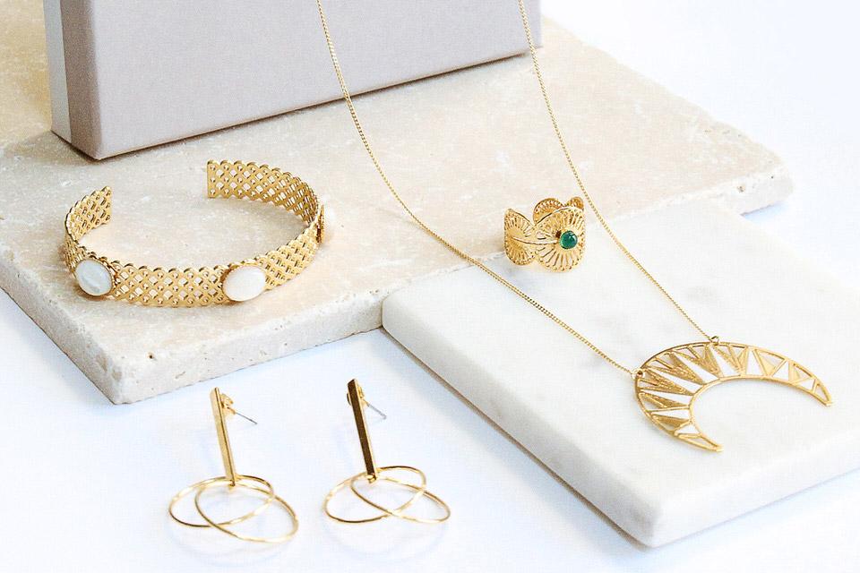 Box de bijoux de créateurs emma & chloé