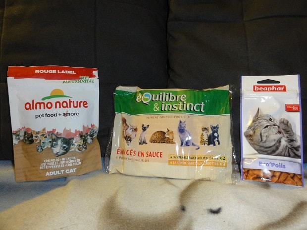 Wanibox for cat - Nourriture