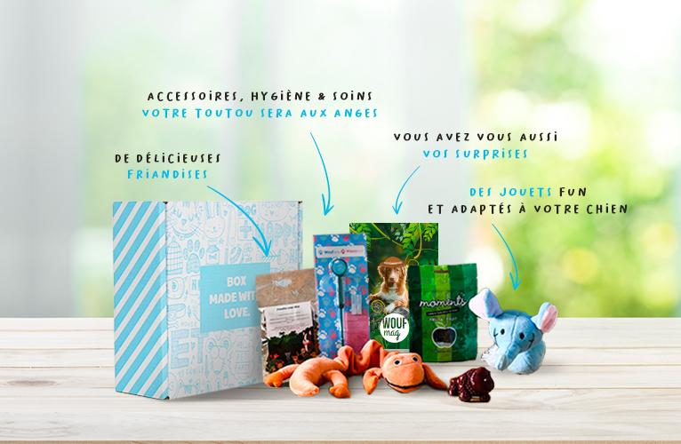 Les produits de la Woufbox