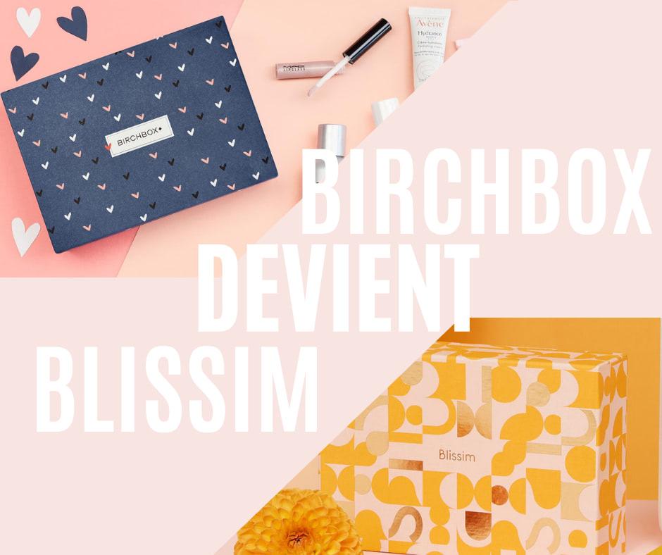 Birchbox devient Blissim
