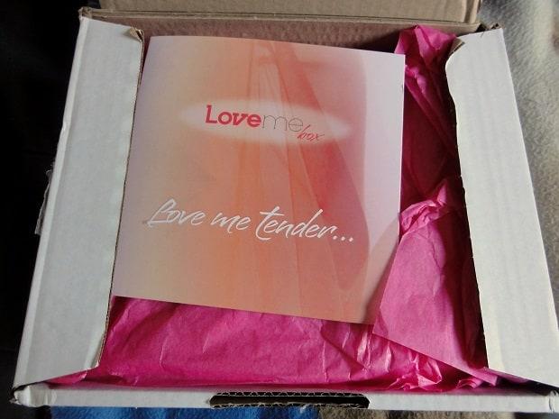 Test Love Me Box - 2