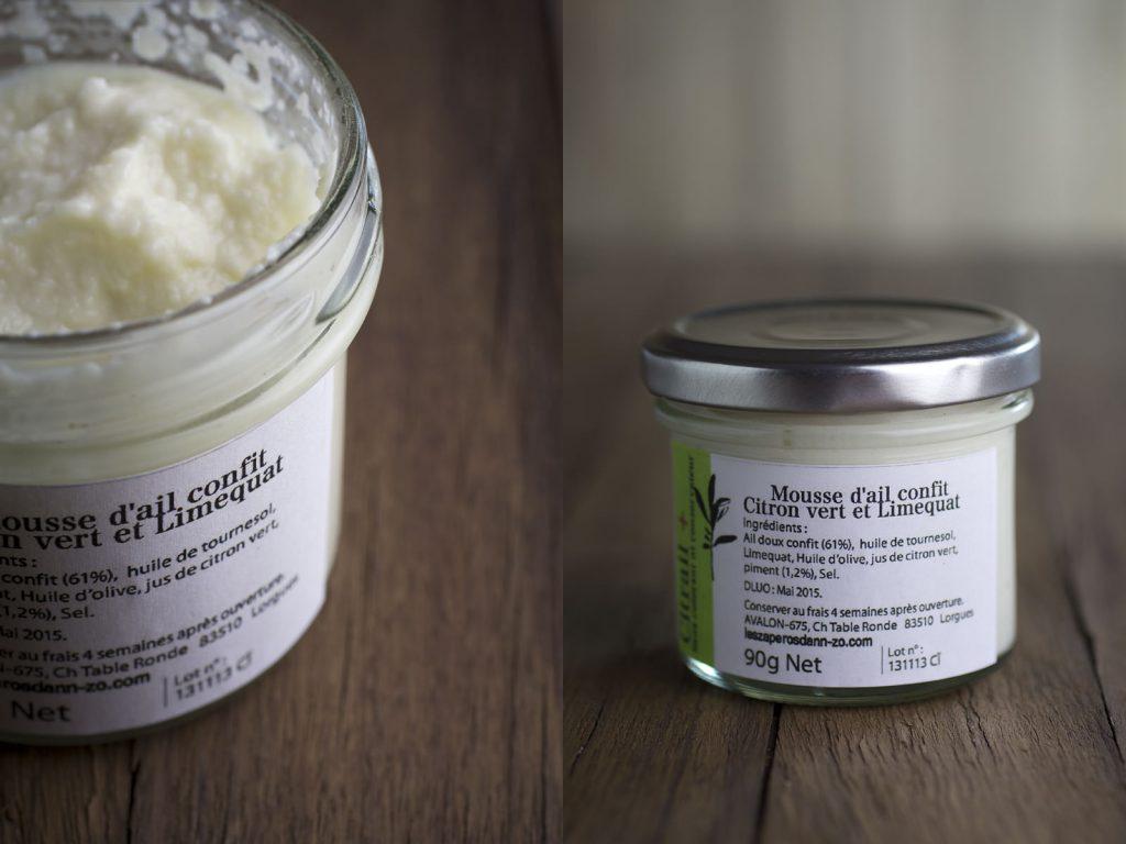 Mousse d'ail confit citron vert et limequat de la FoodizBox de mars 2014 - tlb.dev