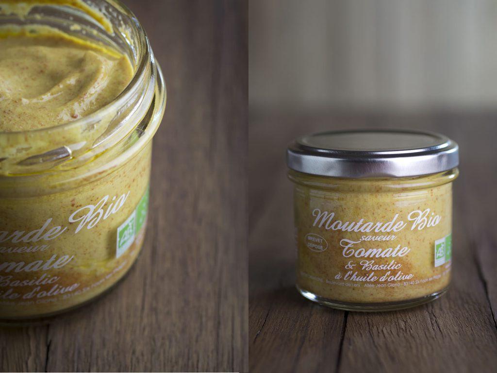 Moutarde bio tomate et basilic de la FoodizBox de mars 2014 - tlb.dev