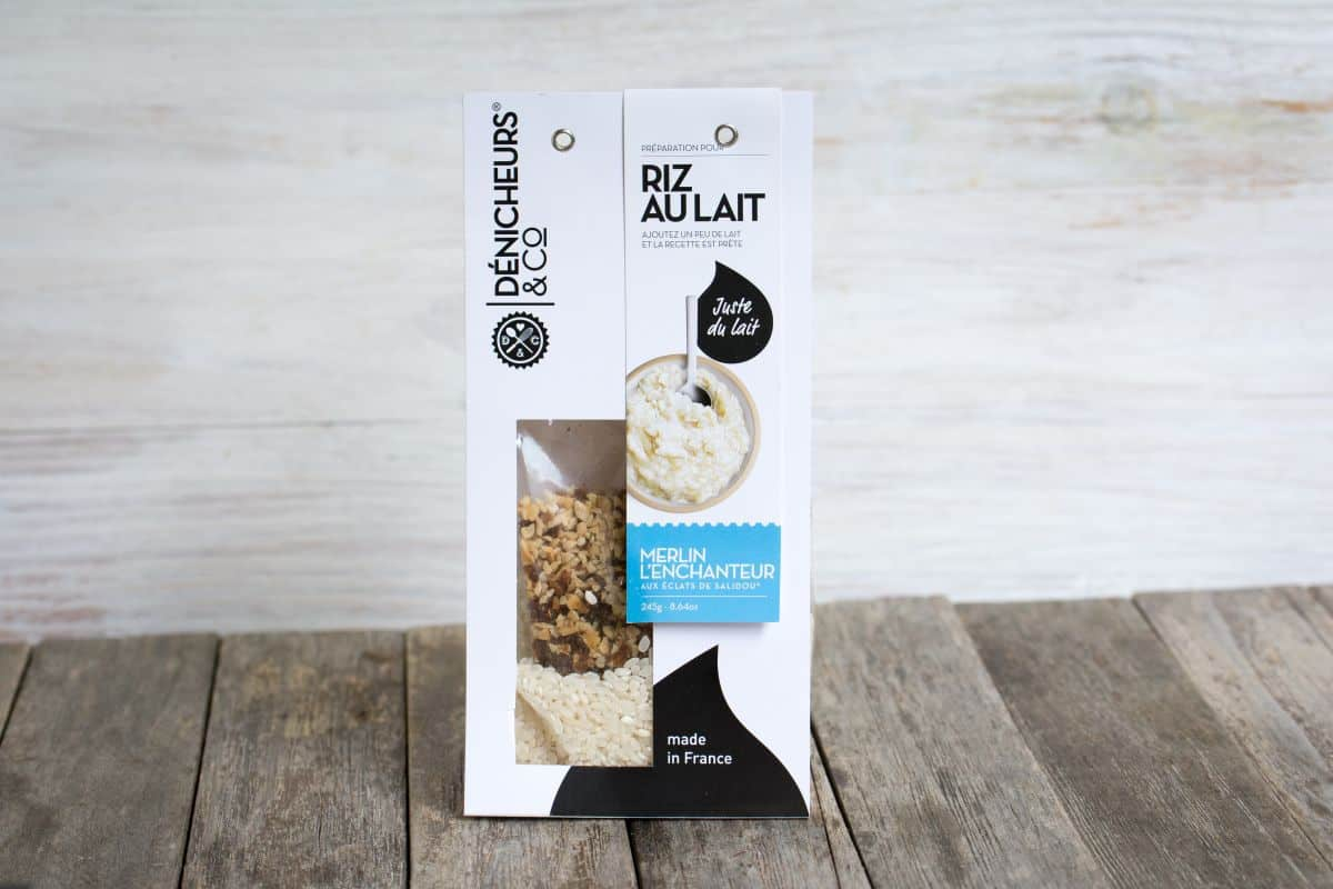 Gourmibox - Riz au lait Merlin l'Enchanteur