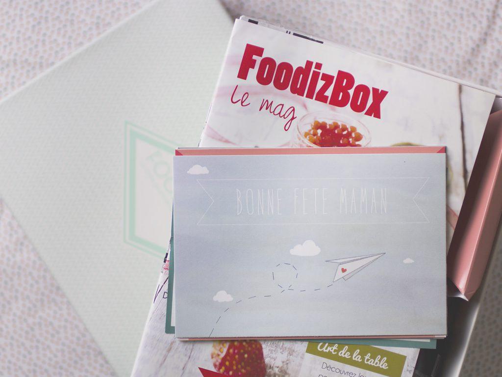 La foodizBox de mai fait so n cinéma... aux mamans !