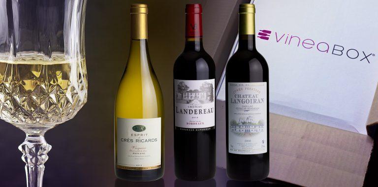 Vineabox, la box de vins sélectionnés par Franck Thomas, meilleur sommelier d'Europe et de France 2000 - En avril 2014 : région Bordeaux et Pays d'Oc