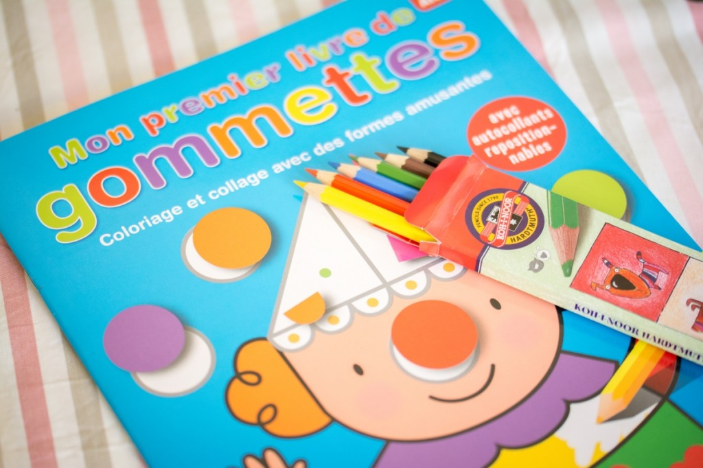 La box de pandore - Livre d'activités et crayons
