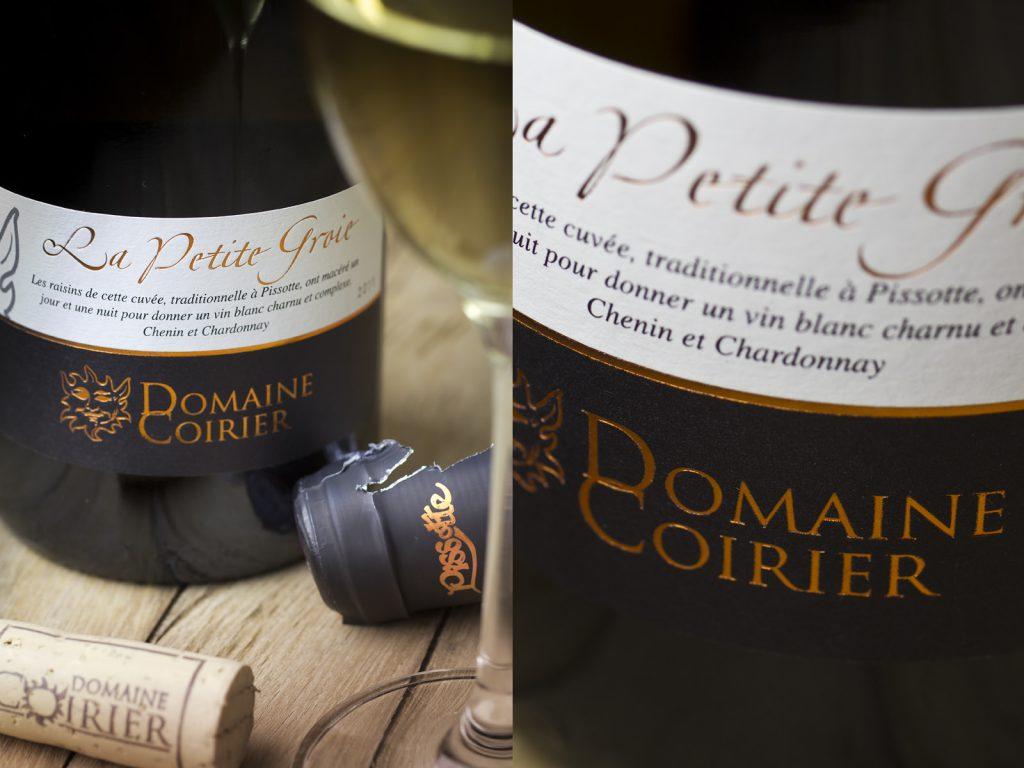 Fiefs Vendéens Pissotte A.O.C. La Petite Groie, Domaine Coirier - sélection VineaBox juin 2014