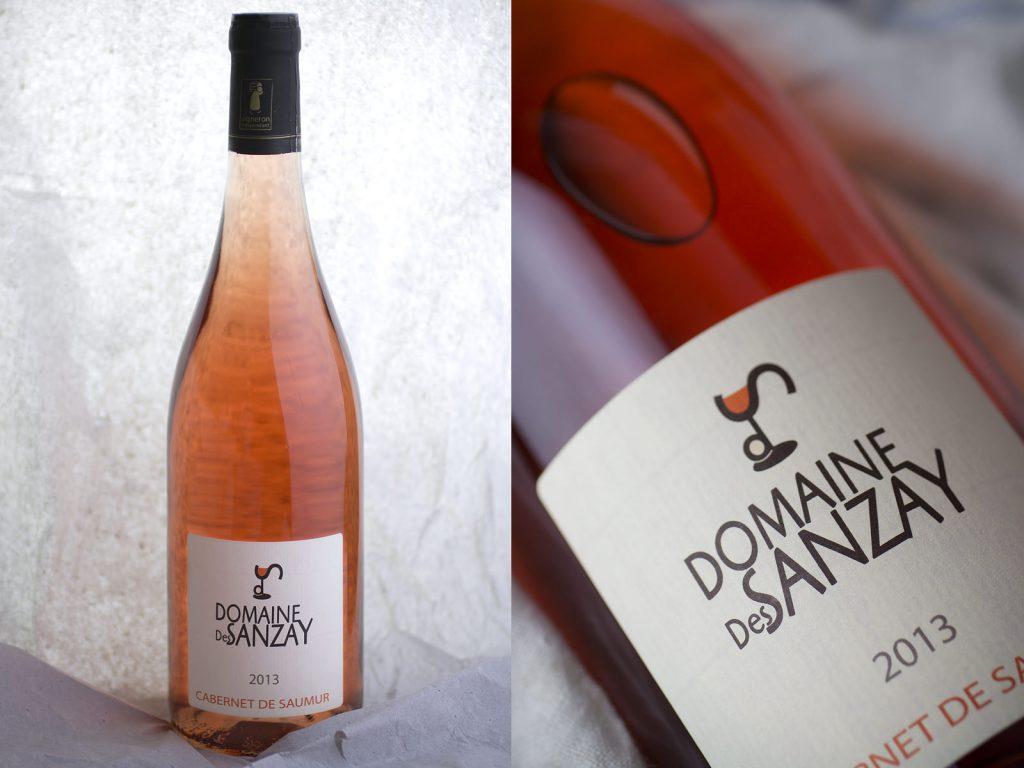 Cabernet de Saumur A.O.C. 2013 rosé, Domaine des Sanzay - Sélection VineaBox juillet 2014