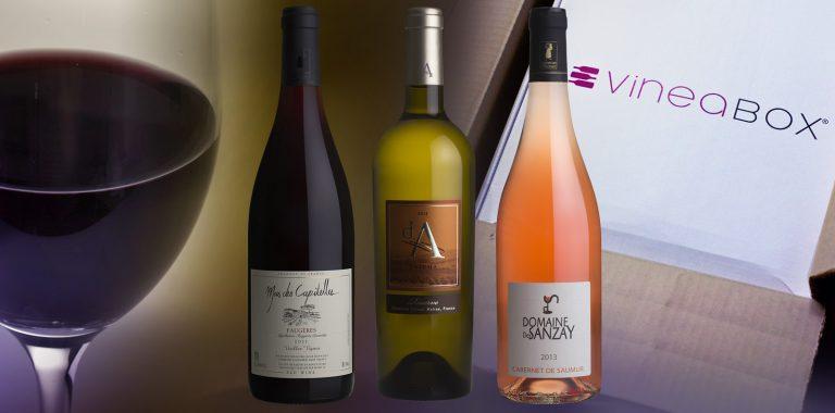 Sélection VineaBox juillet 2014 : Val de Loire et Languedoc-Roussillon
