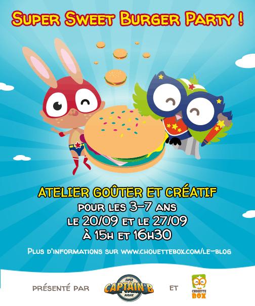 Affiche Burger Party