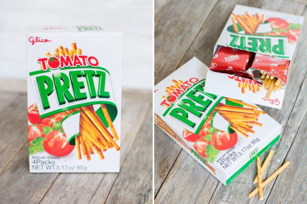Tomato Pretz | Glico (Japon) - Marco de Magellan