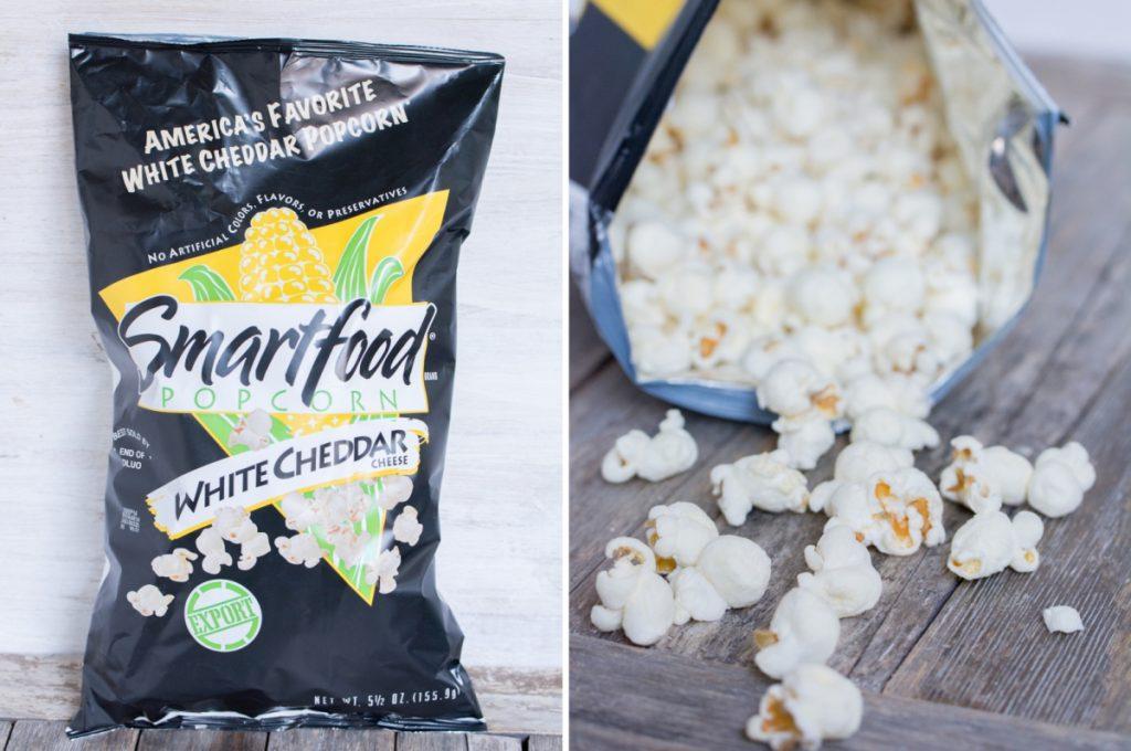 White Cheddar Popcorn | Smartfood (États-Unis) - Marco de Magellan