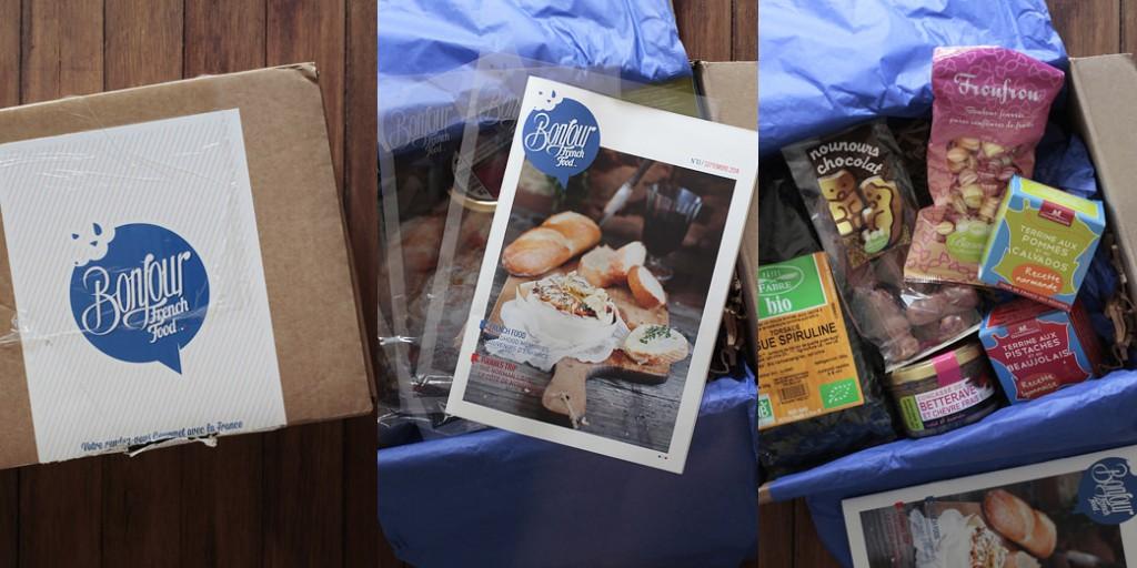 Une box food qui met en valeur notre gastronomie, pour notre plus grand plaisir !