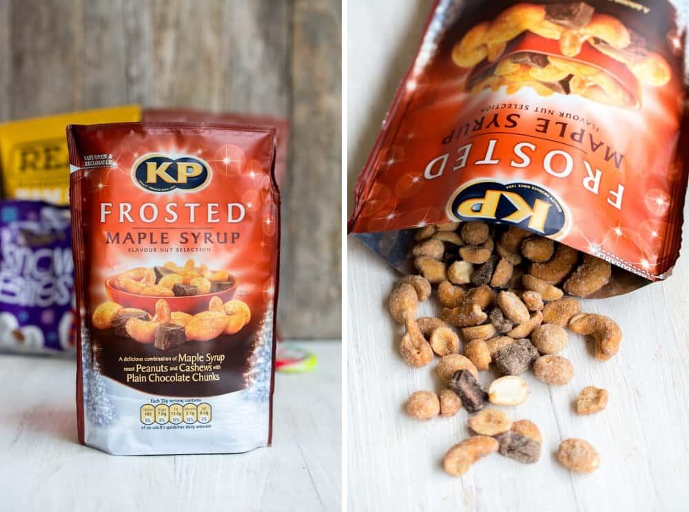 La box Marco de Magellan de décembre 2014 KP Frosted Maple Syrop Peanut Pouch | Royaume Uni
