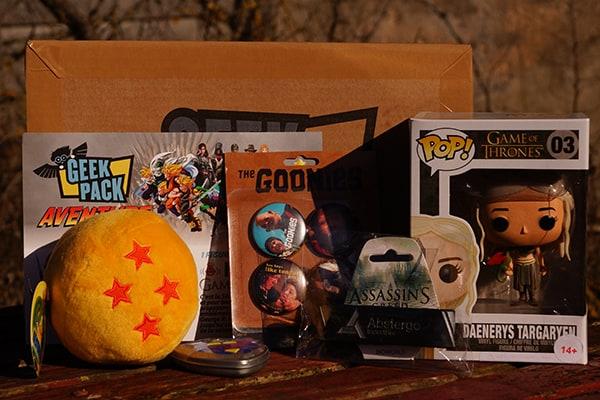geek pack janvier 2