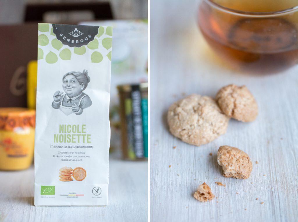 Biscuits noisette Nicole bio et sans gluten | Generous