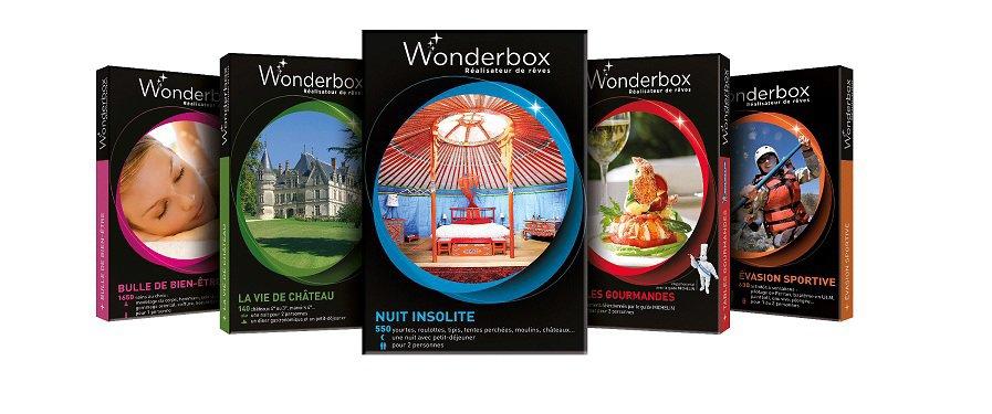 Le choix des Wonderbox : Box cadeaux
