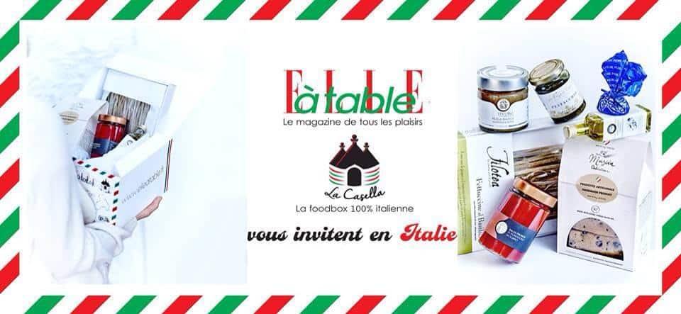 La Casella S 39 Invite Chez Elle Table Toutes Les Box