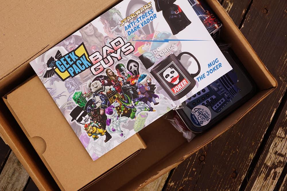 geek pack bad guys