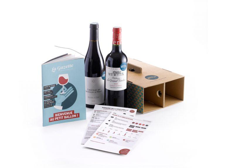 box vin carton de la f te des p res toutes les box. Black Bedroom Furniture Sets. Home Design Ideas