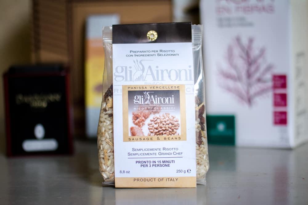 Risotto à la saucisse et aux haricots | Gli Aironi