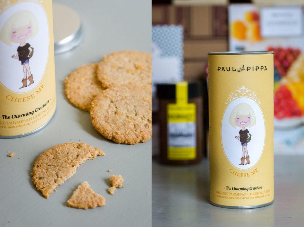 Biscuits bio fromage et cumin | Paul & Pippa | Toutes les box