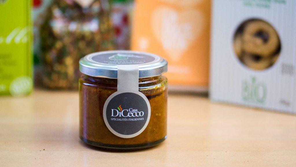 Crème de tomates séchées | DE CASA DI CECCO | La Bonne Box Mars 2016 | Toutes les Box