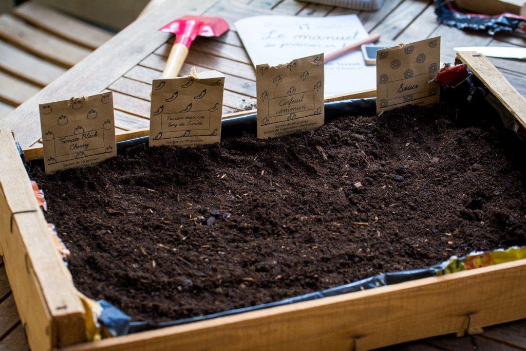 La box à planter printemps 2016 - la jardinière faite maison