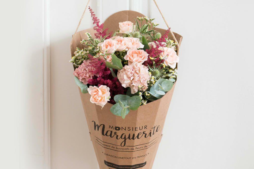 Monsieur marguerite propose un bel abonnement fleurs
