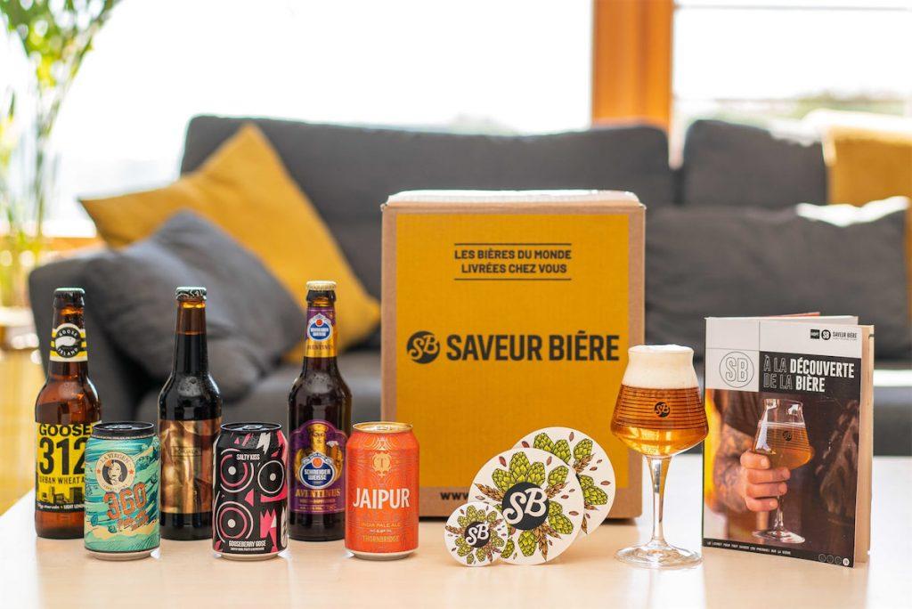 Saveur Bière, la Box cadeau homme