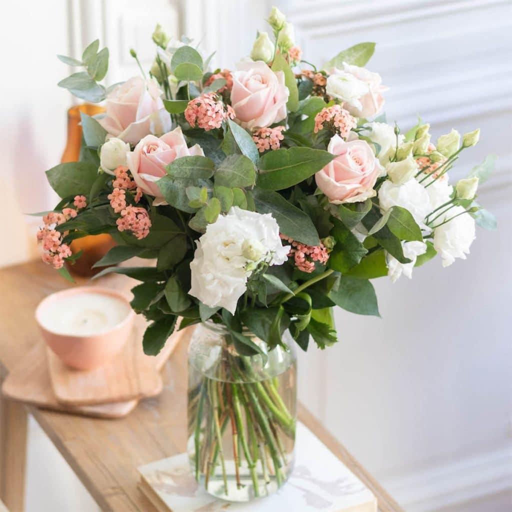 Une création florale Bergamotte