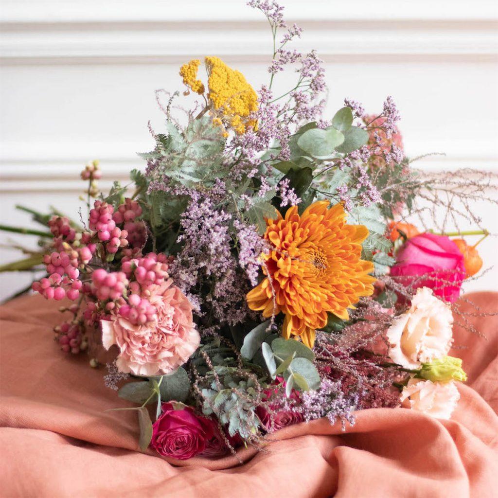 Un bouquet de fleurs Bergamotte
