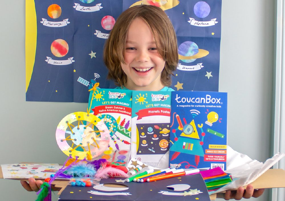 Toucan Box, une belle box d'abonnement pour enfant
