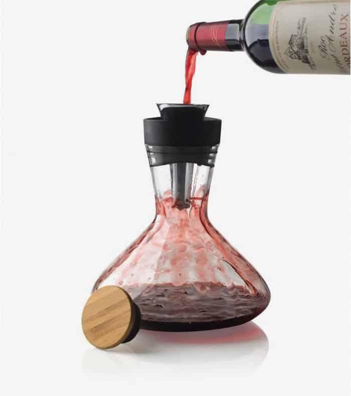 Une carafe à vin pour une table 3 étoiles