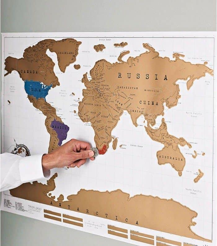 Une carte pour répertorier tous ses voyages