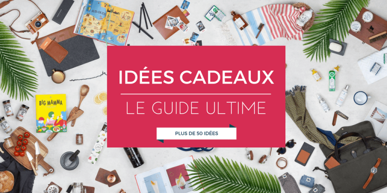 Idée cadeau   Le guide ultime des +50 idées les plus incroyables (2019) 15a711f423d