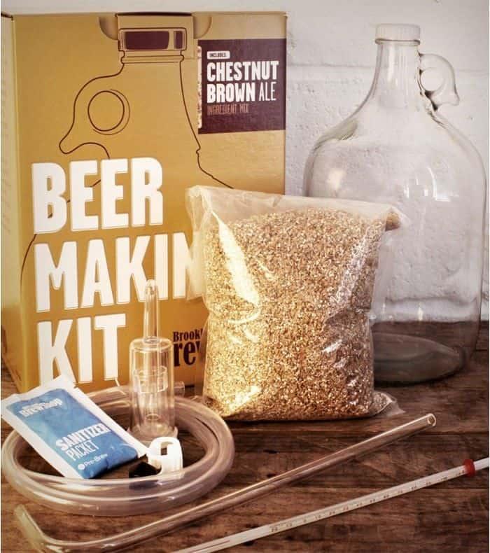 Kit pour fabriquer sa propre bière