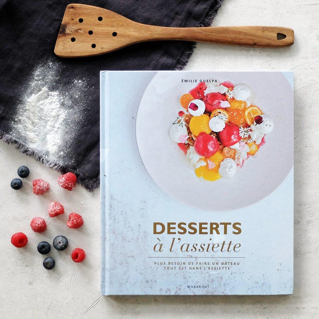Livre pour réaliser des desserts