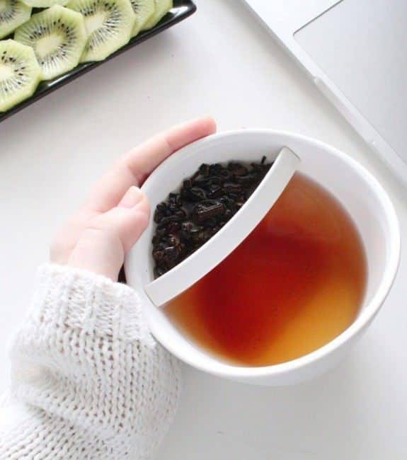 Mug infusion thé