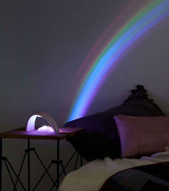 Projecteur lampe arc en ciel