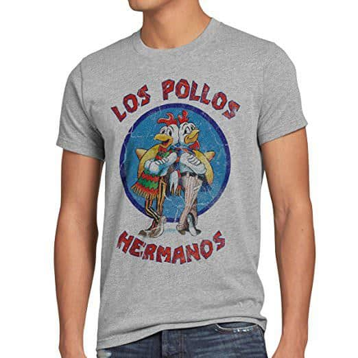 T-shirt Breaking Bad Loas Pollos Hermanos