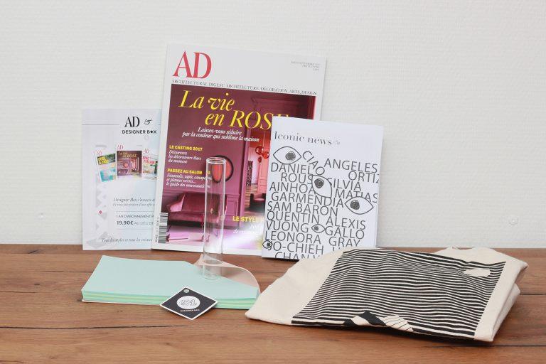 En septembre nous découvrons lédition 51 de la designer box qui a choisi un objet spécial rentrée