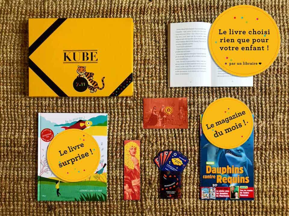 Kube, un abonnement pour recevoir des livres pour enfant