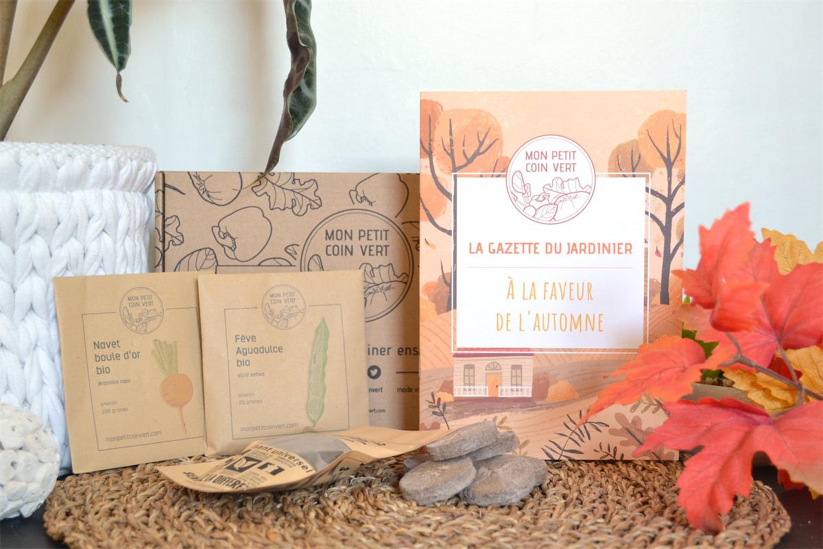 Mon petit coin vert : la Mystery Box pour les jardiniers
