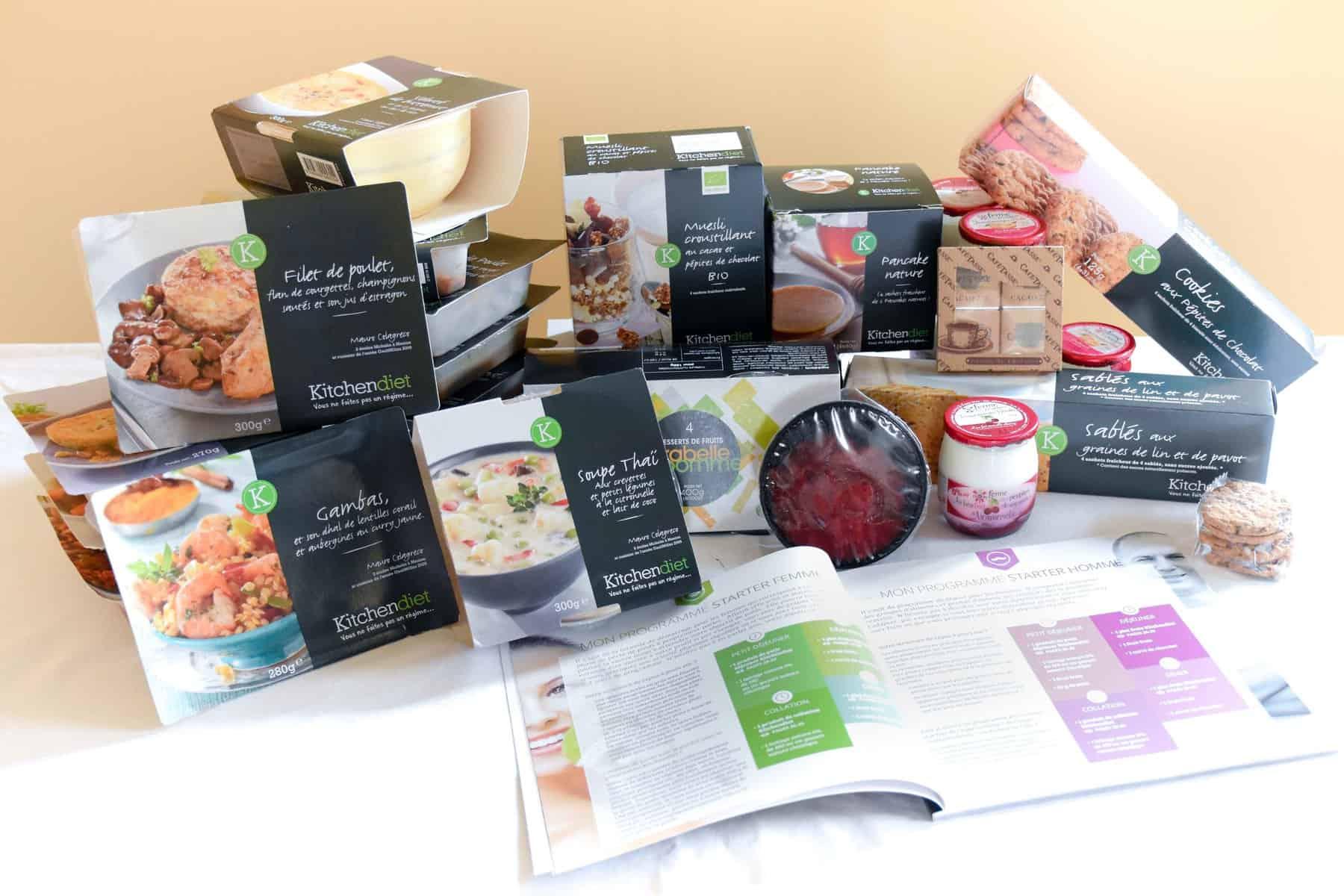 Kitchendiet plats minceur livr s domicile toutes les box - Plats cuisines livres a domicile ...
