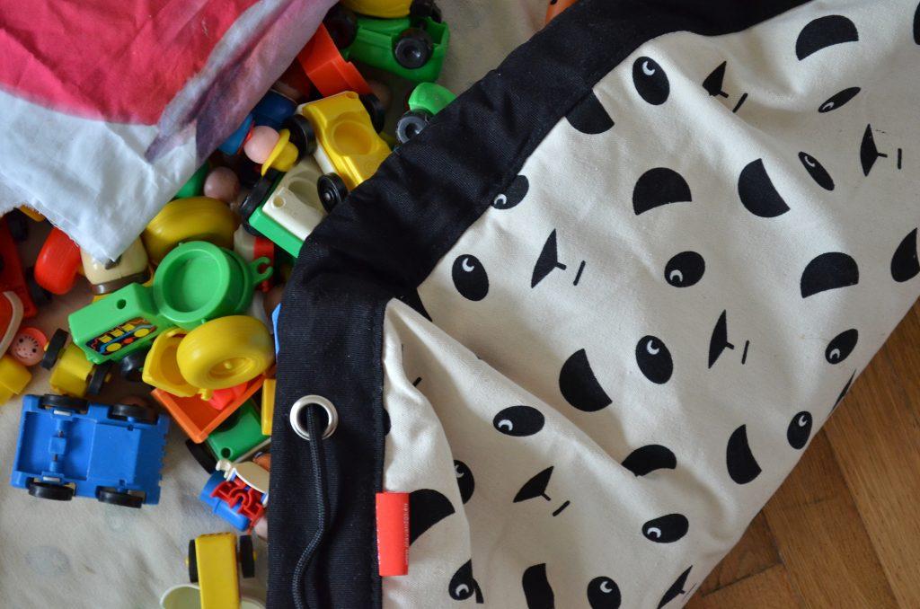 sac de rangement Play and Go panda